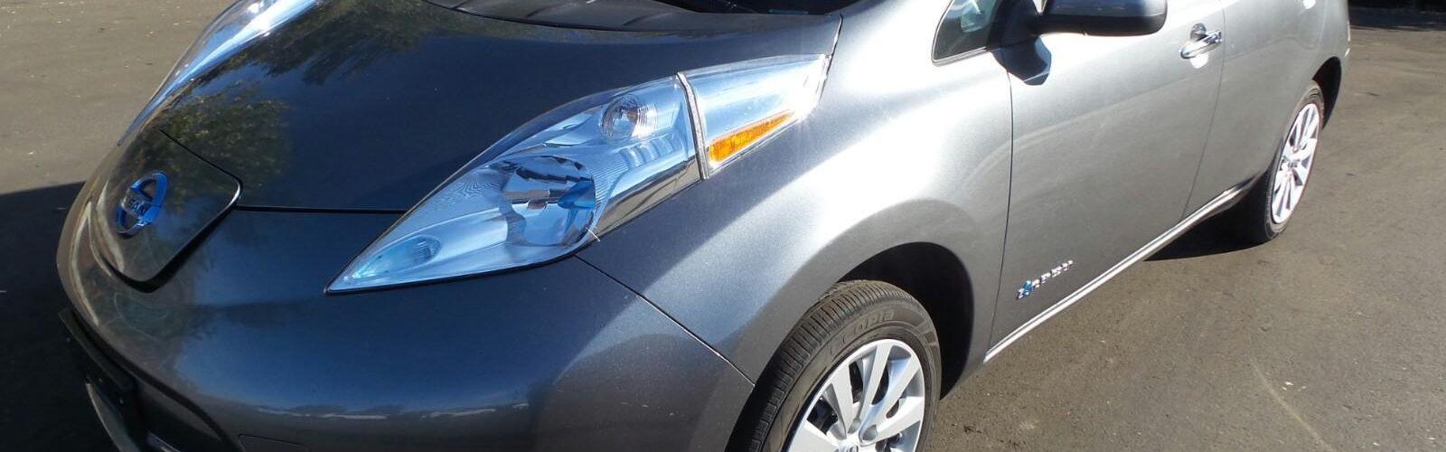 Nissan LEAF S 2014 – 40 449 km –  17 400 $ – VENDU!