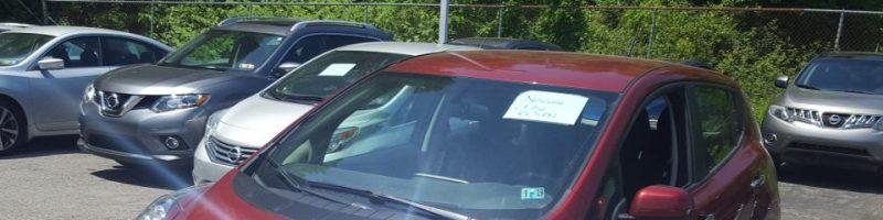 Nissan LEAF 2015 S+ 46 335 Km – Seulement 16 421 $ avec la subvention – RÉSERVÉ