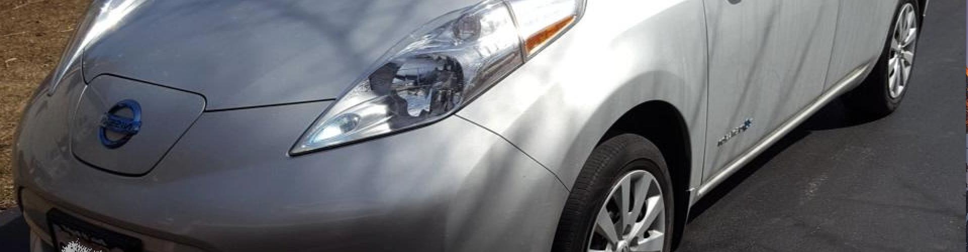 Nissan LEAF 2015 S+ 41 618 Km – 18 750 $ (seulement 16 421 $ avec subvention) – VENDU