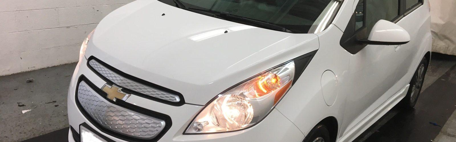 CHEVY SPARK EV LT 2015 – 41 717 Km – Seulement 14 571 $ avec la subvention – VENDU