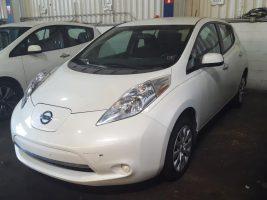 Nissan LEAF 2015 S+ 19 312 Km – Seulement 16 871 $ avec la subvention – VENDU
