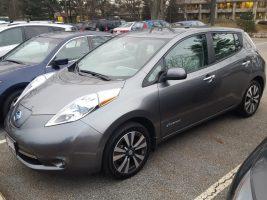 Nissan LEAF 2015 SV – 35 092 Km – Seulement 17 750 $ avec la subvention – VENDU