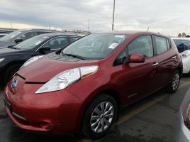 Nissan LEAF 2015 S+ 36 591 Km – Seulement 16 421 $ avec la subvention – VENDU