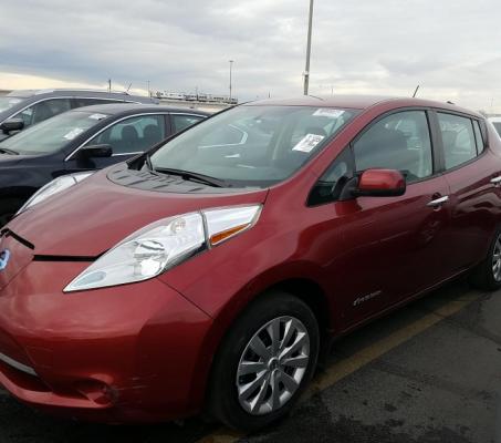 Nissan LEAF 2015 S+ 36 591 Km – Seulement 16 871 $ avec la subvention – DISPONIBLE