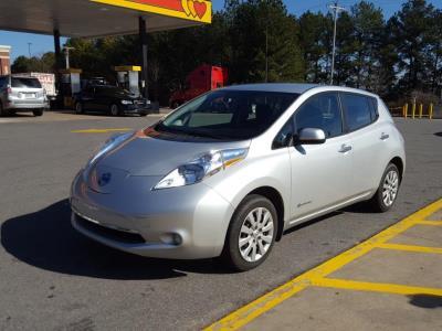 Nissan LEAF 2015 S+ 37 346 Km – Seulement 16 871 $ avec la subvention – DISPONIBLE