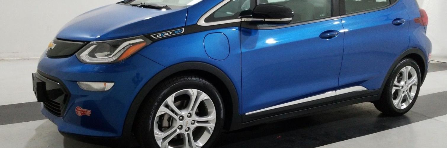 Chevrolet Bolt EV LT 2017 38 449 Km – Seulement 26 500 $ avec la subvention – VENDUE