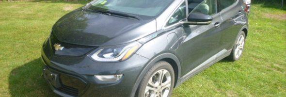 Chevrolet Bolt EV LT 2017 29 828 Km – Seulement 26 500 $ avec la subvention – VENDUE