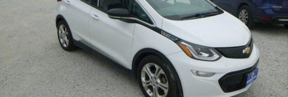 Chevrolet Bolt EV LT 2017 49 517 Km – Seulement 25 500 $ avec la subvention – VENDUE