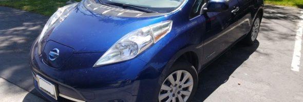 Nissan LEAF 2017 S+ 36 854 Km – Seulement 15 950 $ avec la subvention – VENDUE