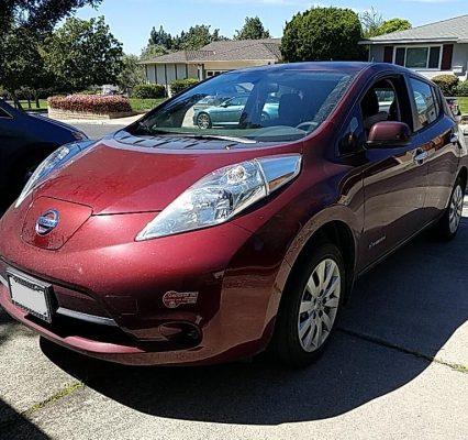 Nissan LEAF 2017 S+ 47 384 Km – Seulement 15 950 $ avec la subvention – VENDUE