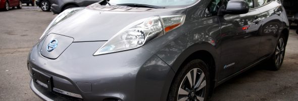 Nissan LEAF 2017 SV 36 250 Km – Seulement 17 950 $ avec la subvention – DISPONIBLE