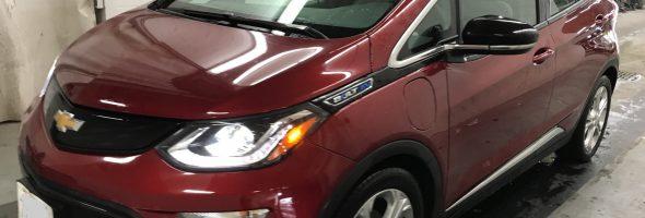 Chevrolet Bolt EV LT 2017 31 563 Km – Seulement 26 500 $ avec la subvention – VENDUE