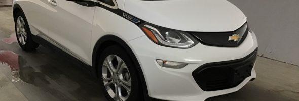 Chevrolet BOLT EV LT 2017, 66 200 km – Seulement 21 750 $ (subvention incluse) –Réservée
